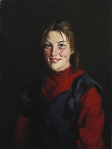 Achill Girl, 1913 by George Wesley Bellows