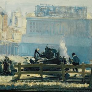 Blue Mornings by George Wesley Bellows