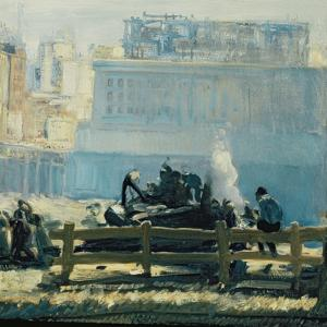 Blue Mornings by George Wesley Bellows