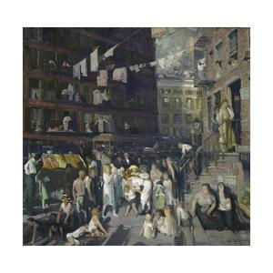 Cliff Dwellers, 1913 by George Wesley Bellows