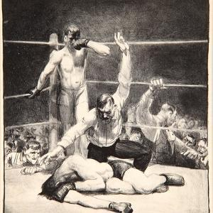 Counted Out, 1921 by George Wesley Bellows