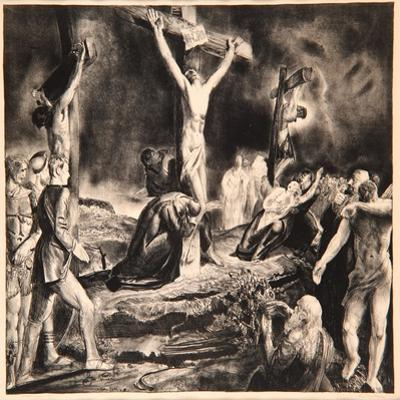 Crucifixion of Christ, 1923