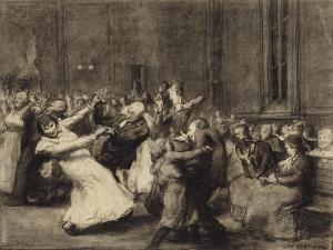 Dance at Insane Asylum, 1907 by George Wesley Bellows