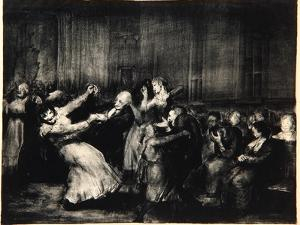 Dance in a Madhouse, 1917 by George Wesley Bellows