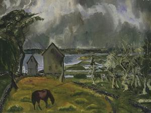 Dead Orchard by George Wesley Bellows