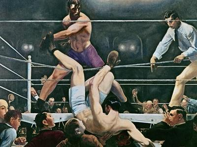 Dempsey v. Firpo in New York City, 1923, 1924