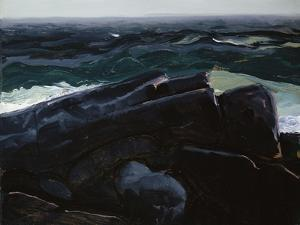 Evening Sea, 1913 by George Wesley Bellows