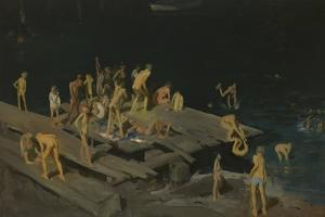 Forty-Two Kids, 1907 by George Wesley Bellows