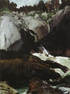 Gorge and Sea, 1911 by George Wesley Bellows