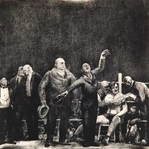 Introducing John L. Sullivan, 1916 by George Wesley Bellows