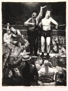 Introductions, 1921 by George Wesley Bellows