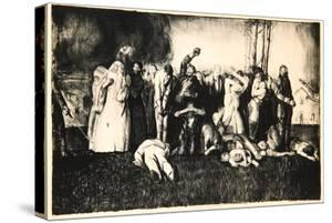 Massacre at Dinant, 1918 by George Wesley Bellows
