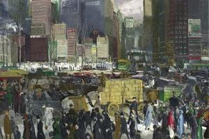 New York, 1911 by George Wesley Bellows