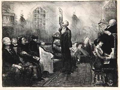 Prayer Meeting, 1916
