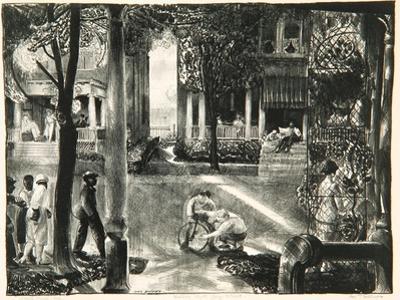 Sixteen East Gay Street, 1923-24 by George Wesley Bellows