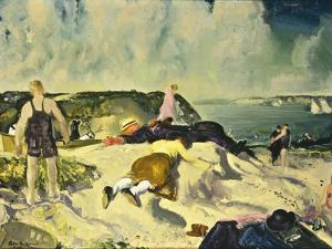 The Beach, Newport by George Wesley Bellows
