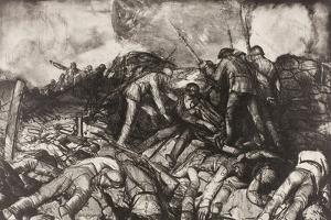 The Charge, 1918 by George Wesley Bellows