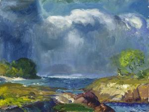 The Coming Storm, 1916 by George Wesley Bellows