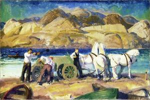 The Sand Cart, 1917 by George Wesley Bellows