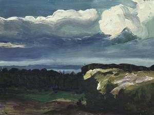 Woodstock Landscape by George Wesley Bellows