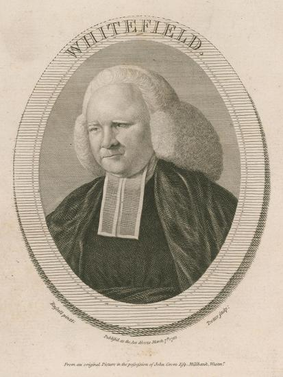 George Whitefield, Ma, One of the Founders of Methodism--Giclee Print