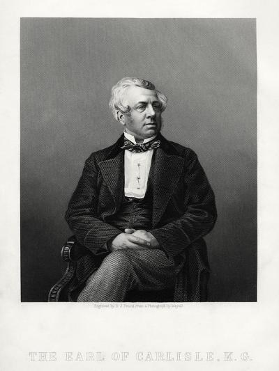 George William Frederick Howard, 7th Earl of Carlisle, British Politician and Statesman, C1880-DJ Pound-Giclee Print