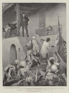 Gordon's Last Stand, Khartoum, 26 January 1885 by George William Joy