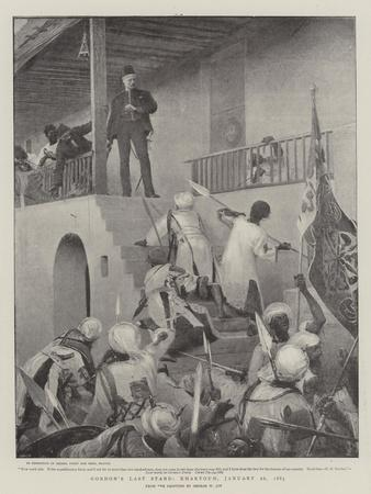 Gordon's Last Stand, Khartoum, 26 January 1885