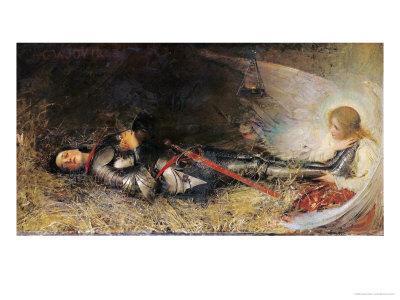 Joan of Arc Asleep, 1895
