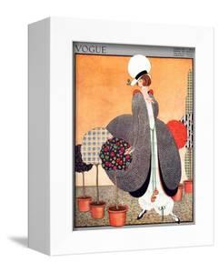 Vogue Cover - February 1914 by George Wolfe Plank