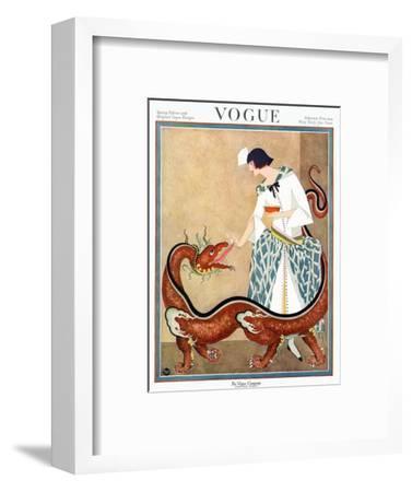 Vogue Cover - February 1923