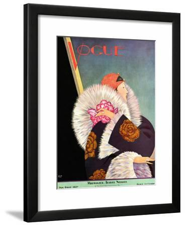 Vogue Cover - January 1927