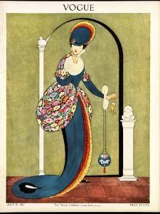 Vogue Cover - July 1913 by George Wolfe Plank