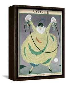 Vogue Cover - June 1917 by George Wolfe Plank