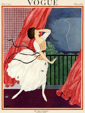Vogue Cover - June 1921