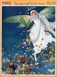 Vogue Cover - May 1913 by George Wolfe Plank