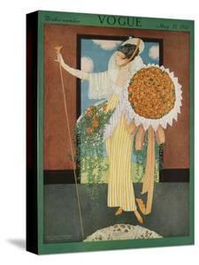 Vogue Cover - May 1914 by George Wolfe Plank