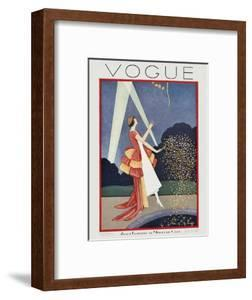 Vogue Cover - May 1926 by George Wolfe Plank