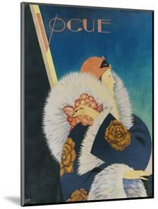 Vogue - January 1927 by George Wolfe Plank