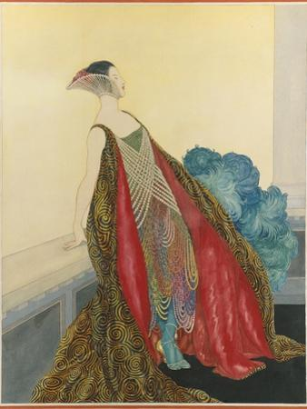 Vogue - May 1921 by George Wolfe Plank