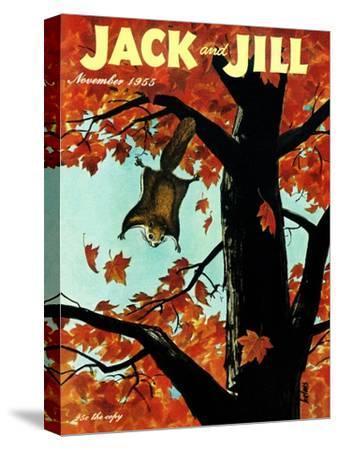 Flying Squirrel - Jack and Jill, November 1955