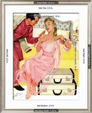 Georgeous Decoy Saturday Evening Post Leading Ladies June 12 1954 Pg 27 Giclee Print Robert Meyers Art Com