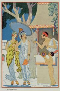 Ancient Greece, from 'The Art of Perfume', pub. 1912 by Georges Barbier