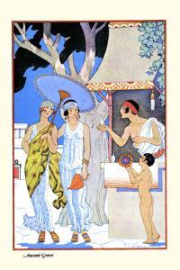 Ancient Greece by Georges Barbier