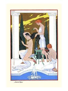 Ancient Rome by Georges Barbier