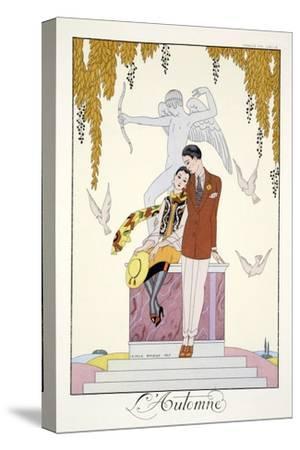 Autumn, from 'Falbalas and Fanfreluches, Almanach des Modes Présentes, Passées et Futures', 1926