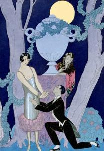 Avarice, 1924 by Georges Barbier