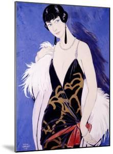 Beauty in Blue by Georges Barbier