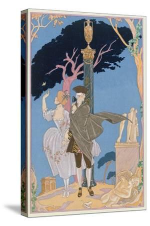 Broken Hearts, Broken Statues, Illustration for 'Fetes Galantes' by Paul Verlaine (1844-96)
