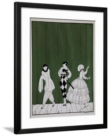 Carnaval, from the Series Designs on the Dances of Vaslav Nijinsky